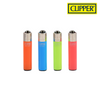 Clipper Lighter Micro Size Solid Fluorescent Design w/ Removable / Replaceable Flint / Poker 48/pack