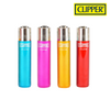 Clipper Lighter Regular Size Crystal #5 w/ Removable / Replaceable Flint / Poker 48/pack