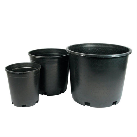 International Nursery - Plastic Plant Pot - Round Hard 10 Gallon 16x12""