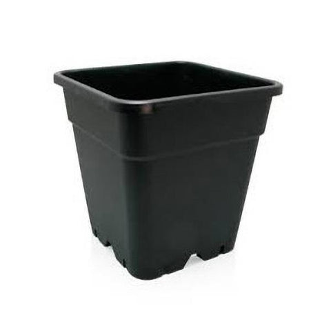 "Grodan Plastic Plant Pot - Square ""The Giant"" 18L 4.75Gallon 12x12x12"""