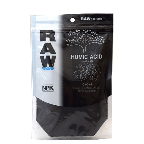 NPK RAW = Soluble Carbon 0-0-4 8oz 10213