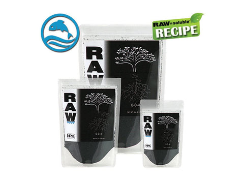 NPK RAW = Soluble Carbon 0-0-4 2oz 10230