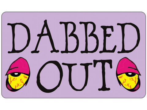 Cycle Stickers Sticker - Dabbed Out
