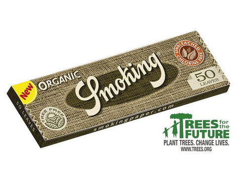 Smoking Organic 1-1/4 Size (Medium) 50/pack 25/box