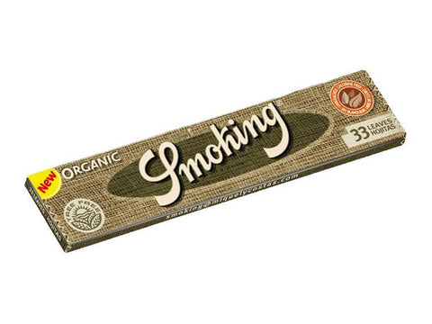 Smoking Organic King Size 33/pack 50/box