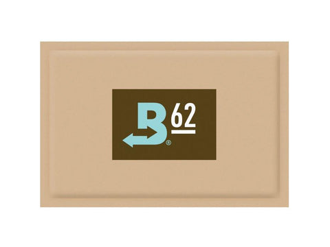 Boveda Humidipak Humidity Controlling Pack For Any Airtight Container 62% 60g 12/box