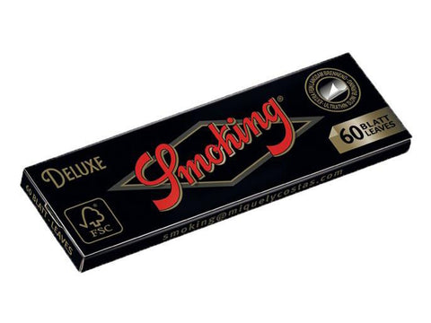Smoking Deluxe Single Size Single-Window 60/pack