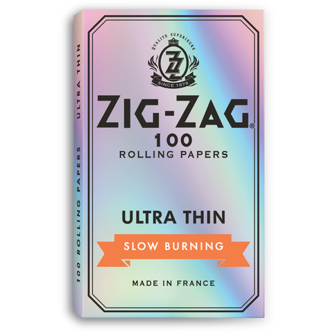 Zig Zag Rolling Papers - Single-Wide Size Ultra-Thin 100/pack
