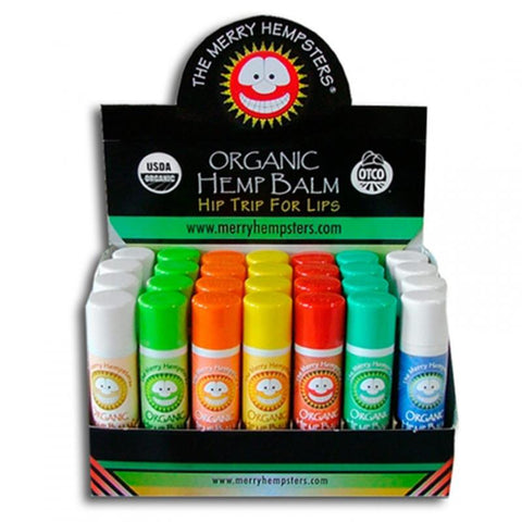 Merry Hempsters Organic Hemp Lip Balm Tube - Flavour Options