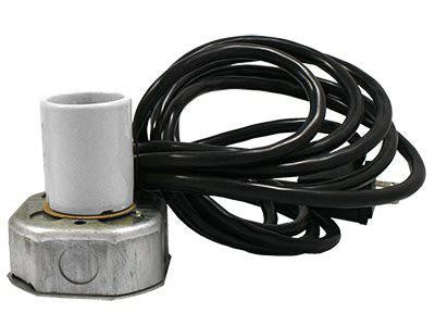 PowerSun Mogul Socket Kit w/ Octagon Box & 15' Cord