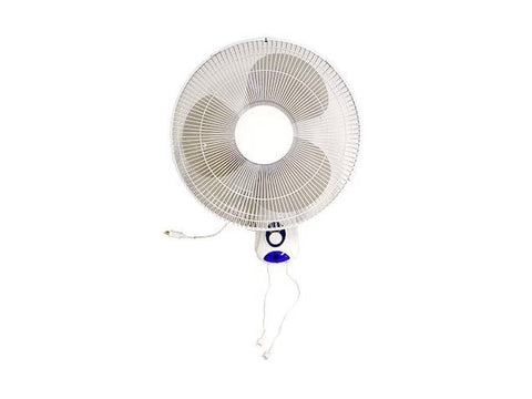 "NoName Oscillating Wall Fan 16"" 3-speed Pull-Toggle 11426"