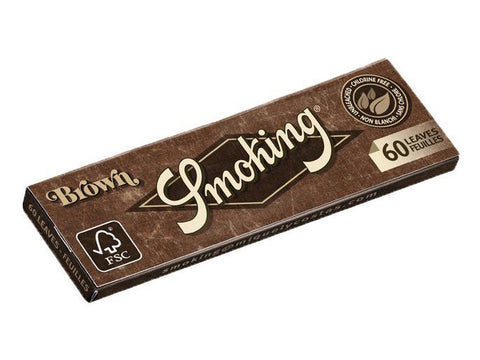 Smoking Brown Single Size Single-Window 60/pack