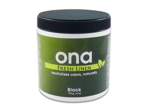 ONA Odor Neutralizing Agent Block 170g / 6oz Fresh Linen
