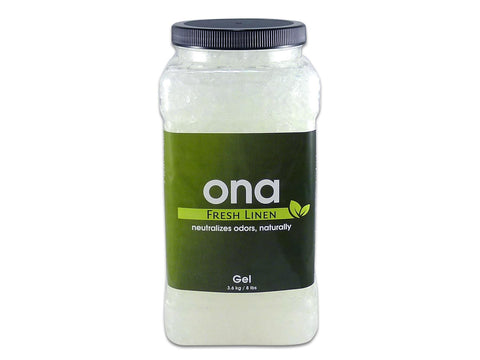 ONA Odor Neutralizing Agent - ONA Gel 4L / 1Gallon Jar Fresh Linen