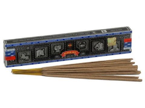 Satya Sai Baba Incense Sticks - (Nag Champa) Super Hit  15g Box