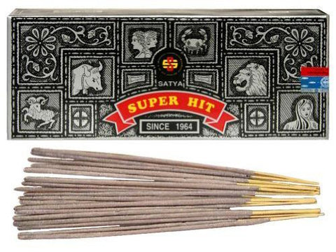 Satya Sai Baba Incense Sticks - (Nag Champa) Super Hit 100g Box