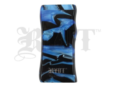 RYOT Dugout - Acrylic - Magnetic Lid - Poker and Bat Included - Large - Blue&Black