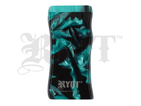 RYOT Dugout - Acrylic - Magnetic Lid - Poker and Bat Included - Large - Green/Black