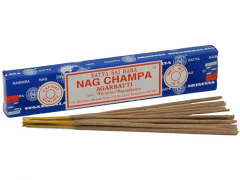 Satya Sai Baba Incense Sticks - Nag Champa  15g Box