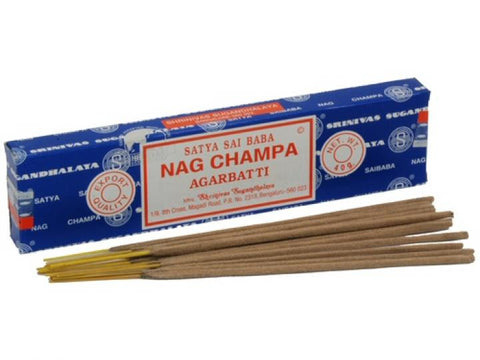 Satya Sai Baba Incense Sticks - Nag Champa  40g Box