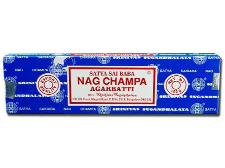 Satya Sai Baba Incense Sticks - Nag Champa  100g Box