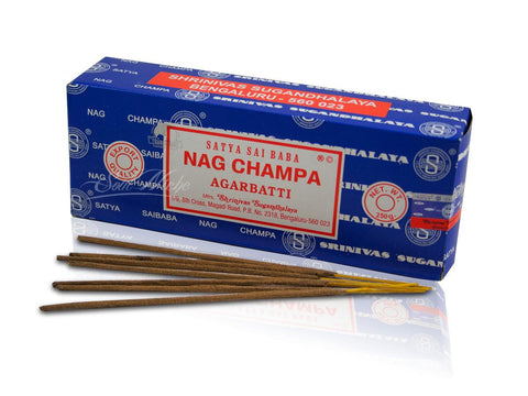 Satya Sai Baba Incense Sticks - Nag Champa 250g Box
