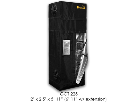 "Gorilla Grow Tent 2x2.5x6'11""-7'11"" With Included Extension GGT225"