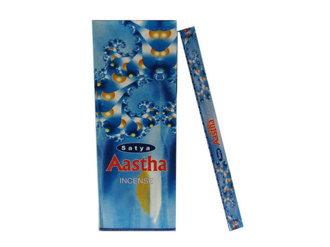 Satya Sai Baba Incense Sticks - Aastha 10g / Box