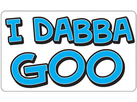 Cycle Stickers Sticker - I Dabba Goo