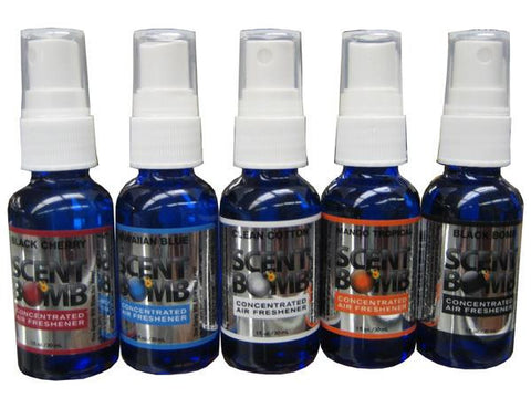 Scent Bomb Air Freshener Spray - 6 Scents Available