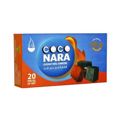 Coco Nara Coconut Charcoals - 25x25x17mm Flat Shape - 20/box