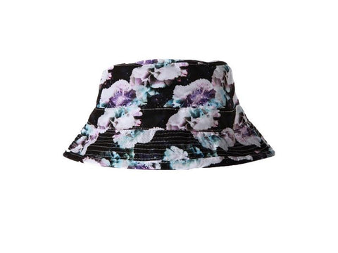 No Bad Ideas Stash Hat - Satori Galactic Prisma Floral Print Bucket
