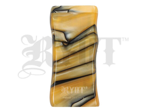 RYOT Dugout - Acrylic - Magnetic Lid - Poker and Bat Included - Large - Yellow/Black