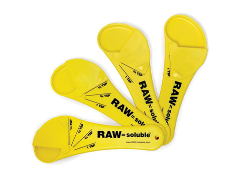 NPK RAW = Soluble Measuring Spoon 1/4-1tsp 12513