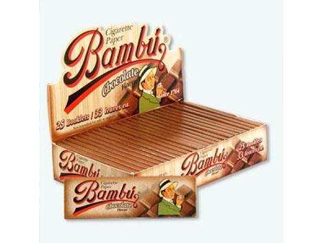 Bambu Flavoured Chocolate 1-1/4 Size 33pk 25box