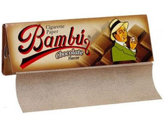 Bambu Chocolate flavoured 125 1.25 1-1/4 Rolling Papers