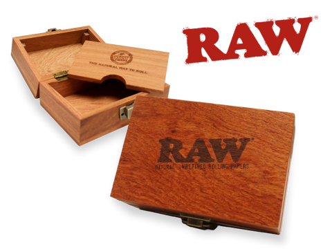 RAW Rosewood Smoker's Deluxe Storage Box V2 (Wood Cannador / Humidor)