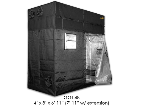 "Gorilla Grow Tent 4x8x6'11""-7'11"" With Included Extension GGT48"