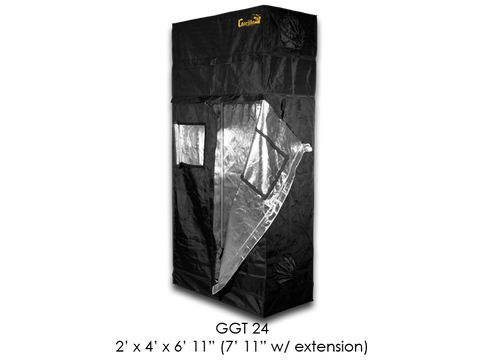 "Gorilla Grow Tent 2x4x6'11""-7'11"" With Included Extension GGT24"