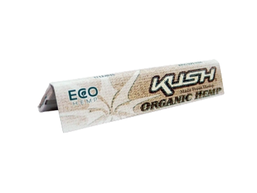 Kush Rolling Papers - 1-1/4 Size Organic Hemp 50/pack