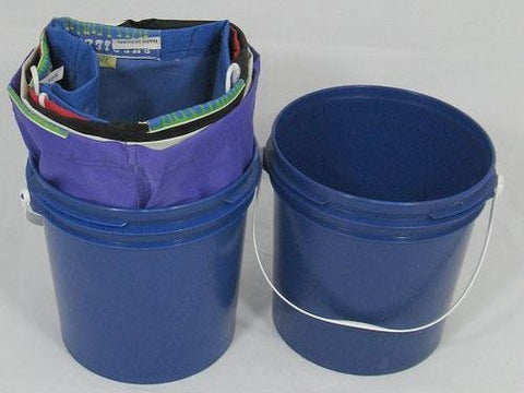 Bubble Bags Bucket - 1 Gallon Blue