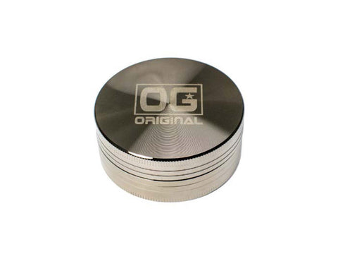 OG Original Glass - Grinder 2-Piece 56mm Nickel