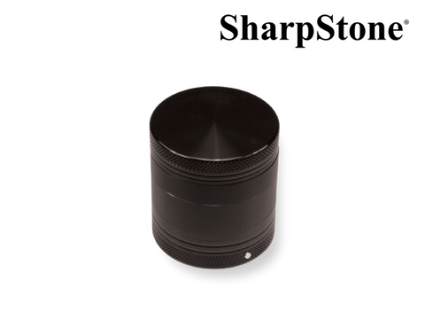 "SharpStone Hard Top 4-Piece Grinder - Vibrating - 2.2"" (Medium) - Black"