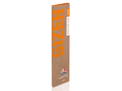 Gizeh Rolling Papers King Size Pure Slim Extra-Fine 33/pack