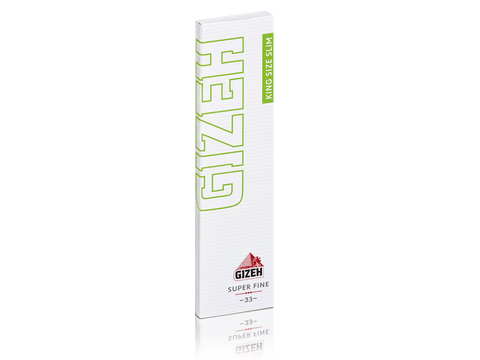 Gizeh Rolling Papers King Size Slim Super-Fine Magnet Pack 33/pack