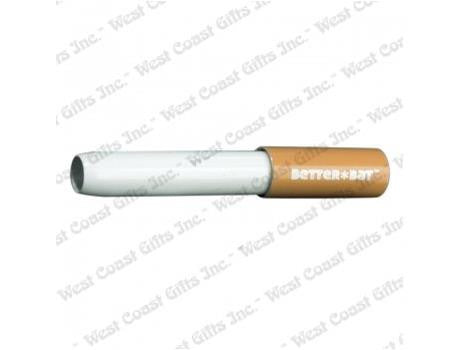 Better Bat OneHitter Dugout Bat Eject-Able Metal Aluminum Cigarette 6cm / Small