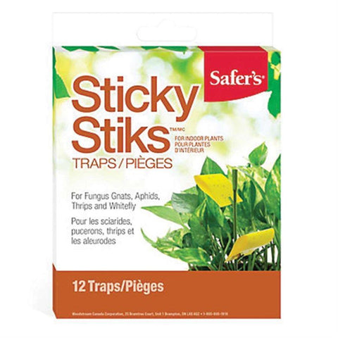 Safer's Sticky Stiks - 12/pack