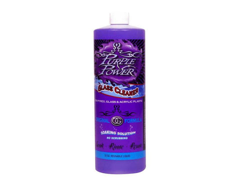 Purple Power Original Formula Cleaner (Glass & Acrylic Soaking Solution) - 32oz *NEW Size