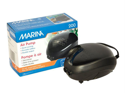 Marina Air Pump 200 - For 60Gallons Max