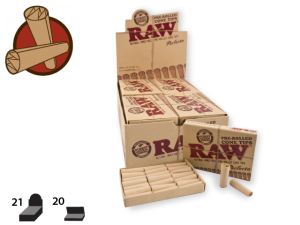 RAW Tips Pre-Rolled Cone Perfecto 21/pack